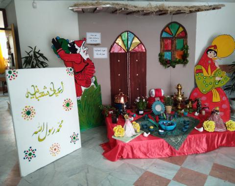 عید مبعث-اعیاد شعبانیه بر همه مسلمانان مبارک بادومراسم پایان سال با حضور مدیریت ومعاونین پرورشی وآموزشی موسسه